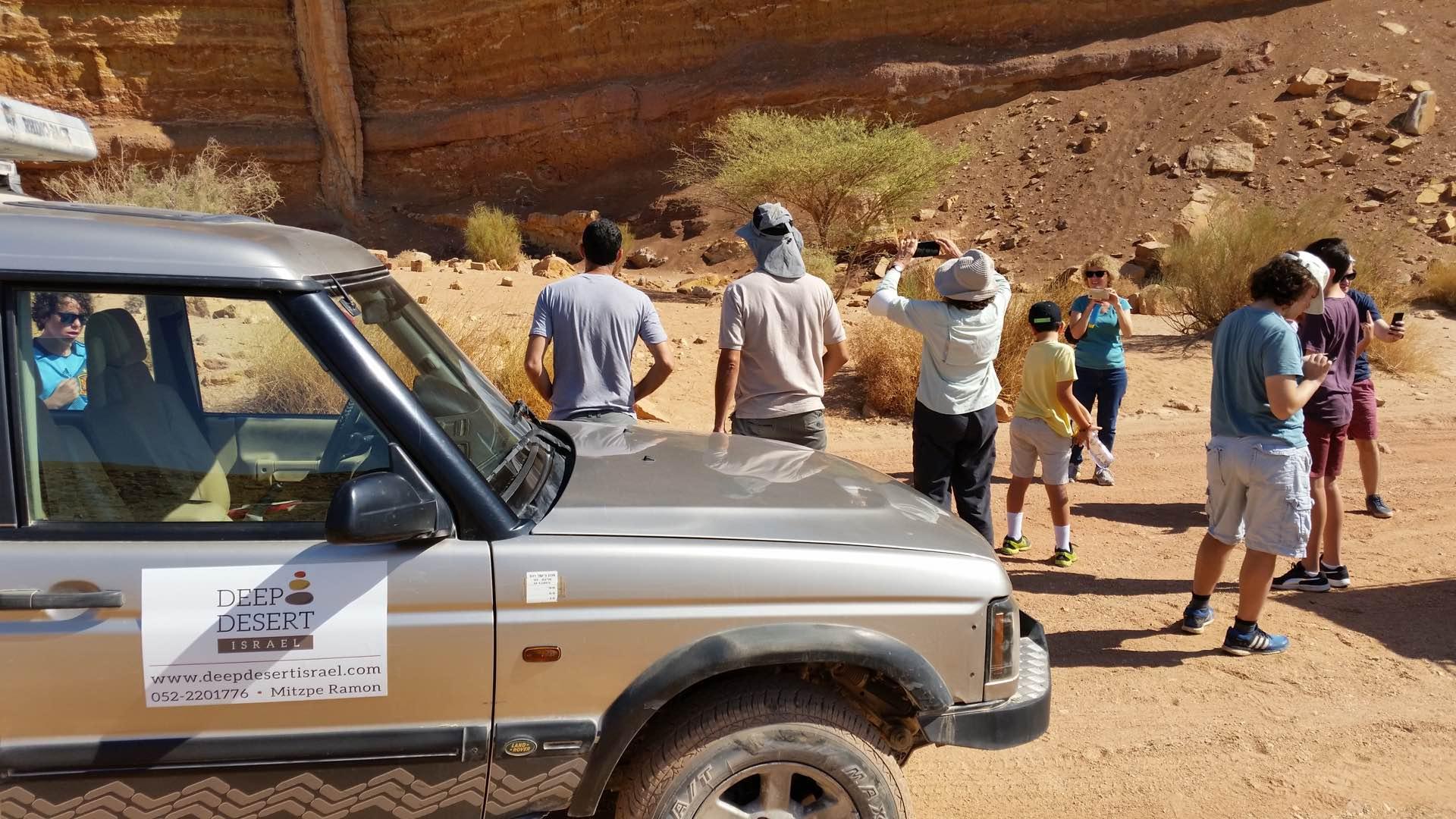 טיולי ג׳יפים למשפחות במכתש רמון