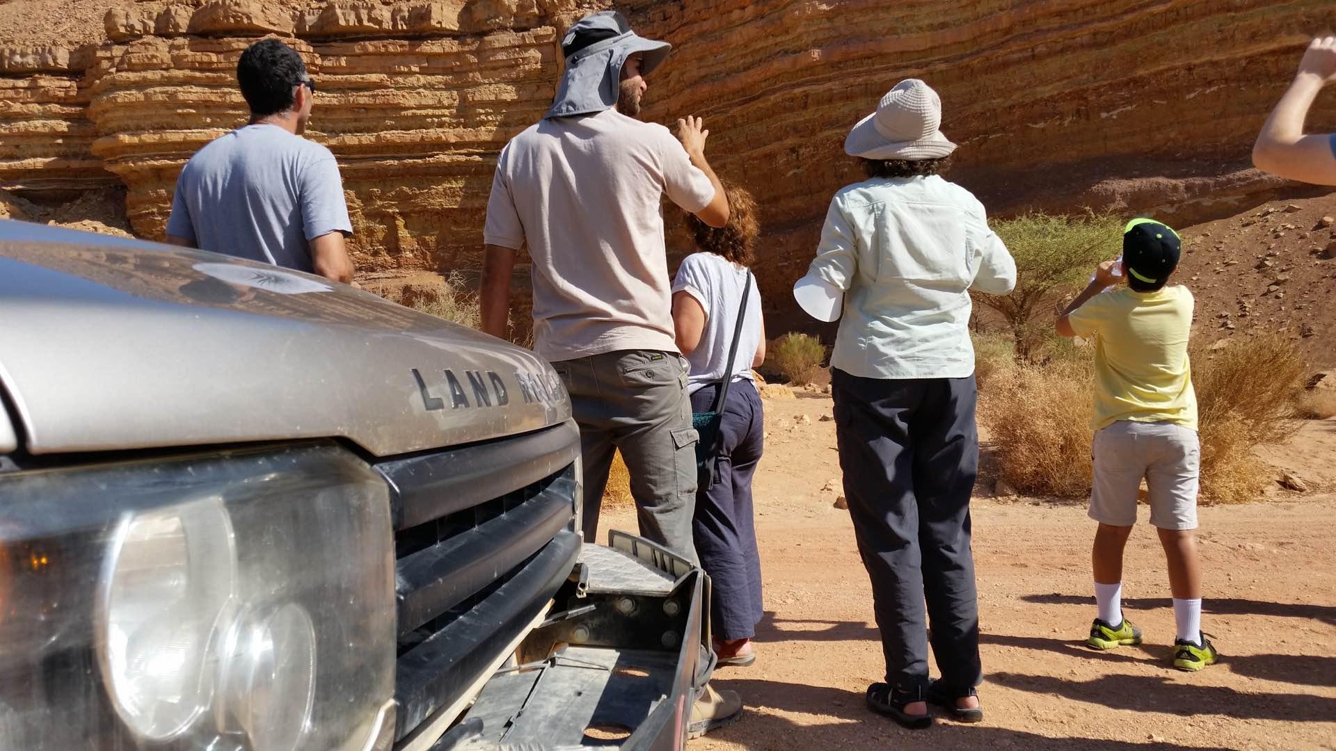 טיול ג׳יפים משפחות נחל ארדון