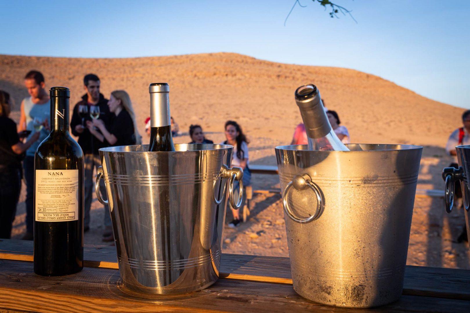 טעימות יין במדבר